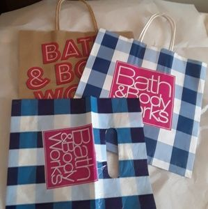 Bath and Body Works store bags